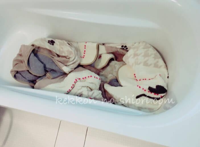 ラグ 洗い方 お風呂 脱水