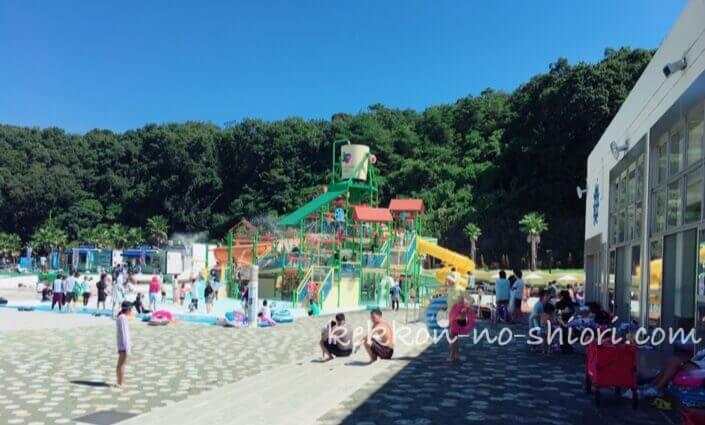 ネスタリゾート神戸 プール 水の要塞