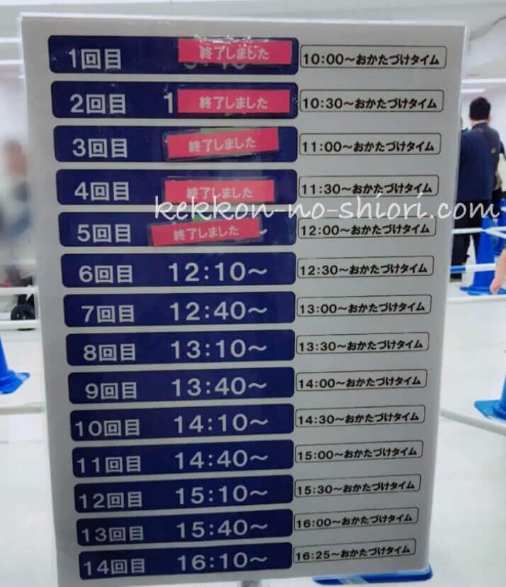 プラレール博in大阪 2020 プレイランド スケジュール