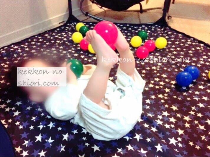 ベビーサークル 赤ちゃんのお部屋